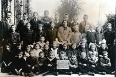 Oude schoolfoto's